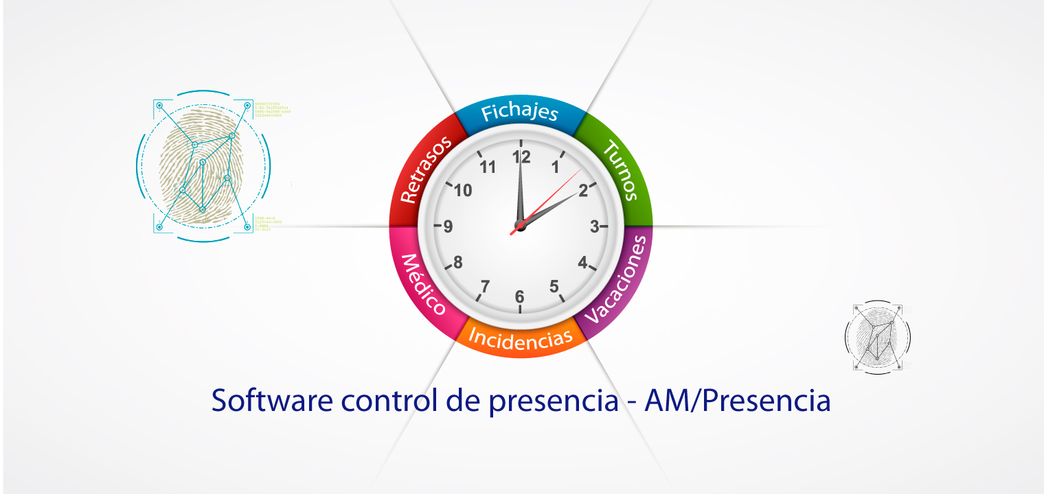 Software control presencia